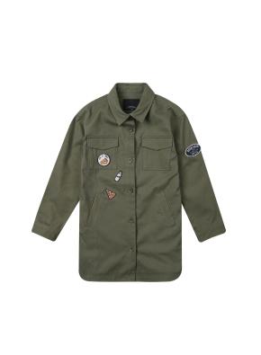 여아) 코튼 트윌 셔켓(KH)