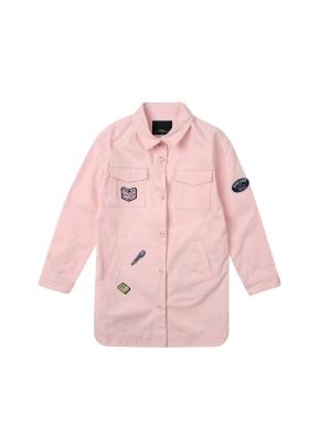 여아) 코튼 트윌 셔켓(PK)