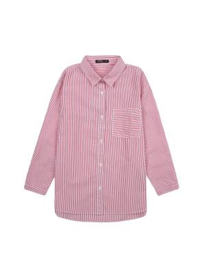 여아) 옥스포드 롱 셔츠(RDP)