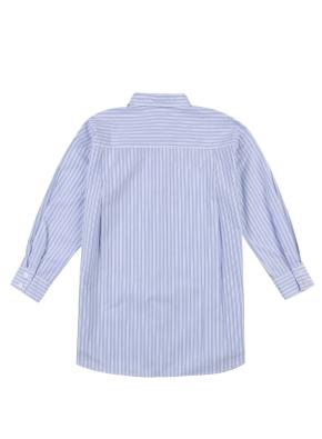 여아) 포플린 롱 셔츠(BLP)