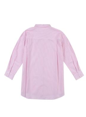 여아) 포플린 롱 셔츠(PKP)