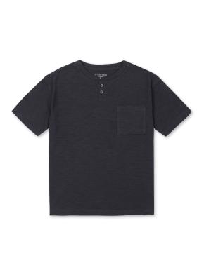 남아) 슬럽 헨리넥 티셔츠 (DCH)