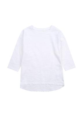 여아) 슬럽 베이직 7부 티셔츠 (OWT)