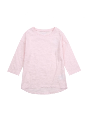 여아) 슬럽 베이직 7부 티셔츠 (PK)