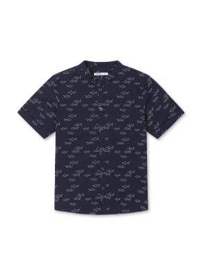 남아) 전판패턴 반팔 셔츠 (NVP)