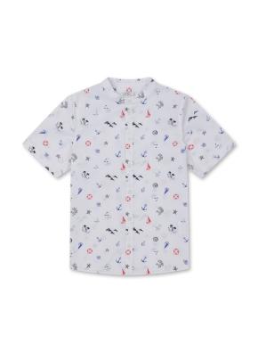 남아) 전판패턴 반팔 셔츠 (WTP)