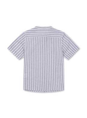 아동) 린넨코튼 반팔 셔츠 (NVP)