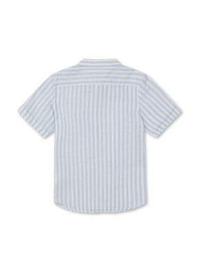 아동) 린넨코튼 반팔 셔츠 (SKP)