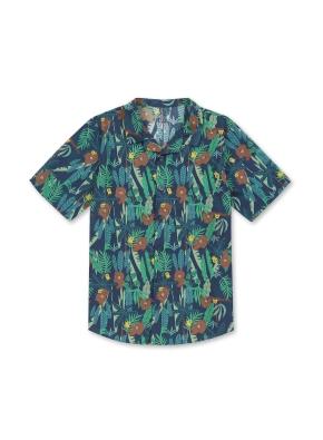 아동) 라인프렌즈 콜라보 반팔 셔츠 (NVP)