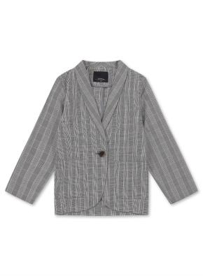 여아) 체크 재킷 (BKP)