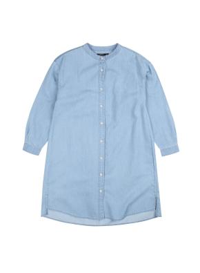 여아) 셔츠 원피스 (BL)
