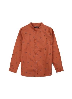 남아) 코튼 전판 패턴 셔츠 (BRP)