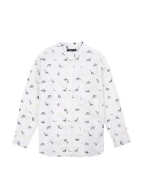 남아) 코튼 전판 패턴 셔츠 (IVP)