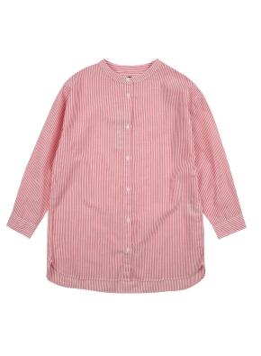 여아) 코튼 스트라이프 셔츠 (RDP)