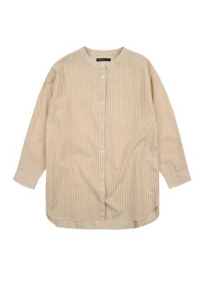 여아) 코튼 스트라이프 셔츠 (YEP)