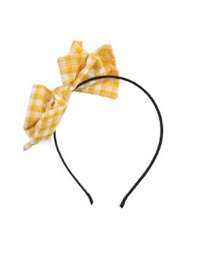 여아) 배색 포인트 머리띠 (YEP)