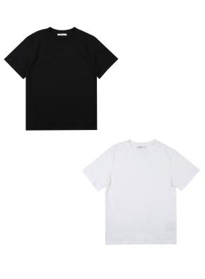 아동) 2PACK 반팔 티셔츠 (BK)
