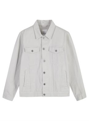남성) 면 트러커 재킷 (LBE)
