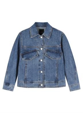 여성) 트러커 재킷 (MBL)