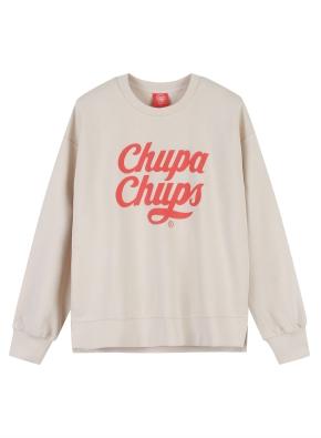 여성) CHUPA CHUPS 맨투맨 (츄파춥스) (CR)
