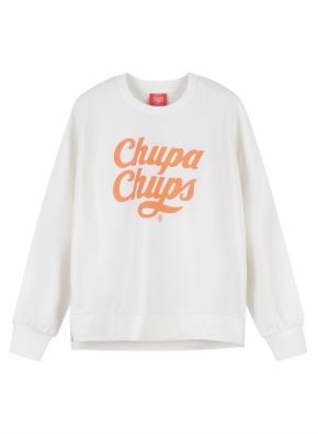 여성) CHUPA CHUPS 맨투맨 (츄파춥스) (WT)