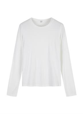 [탑텐몰 단독] 여성) 스판 긴팔 티셔츠 (WT)
