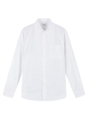 남성) 코튼 옥스포드 버튼다운 긴팔 셔츠 (WT)