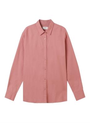 여성) 코튼 옥스포드 오버핏 긴팔 셔츠 (CO)