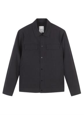 남성) 간절기 트러커 재킷 (BK)