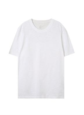 공용) 슬럽 크루넥 반팔 티셔츠