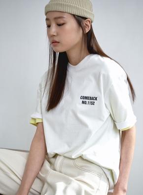 공용) 문화재 환수 캠페인 반팔 티셔츠 (MUST BACK/몽유도원도) (WT)