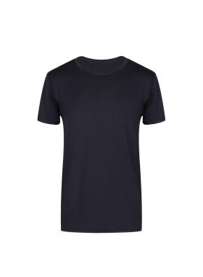 남성) 쿨에어 크루넥 반팔 티셔츠 (BK)