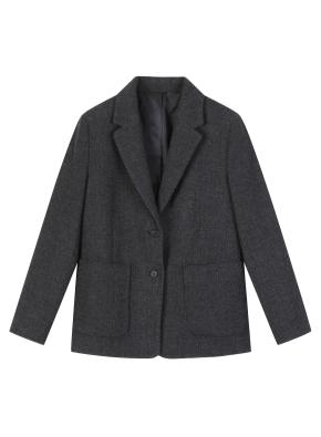 여성) 울 블렌드 재킷
