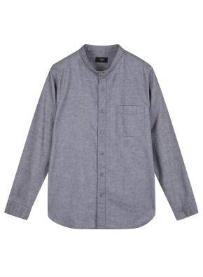 남성) 옥스포드 밴드카라 셔츠