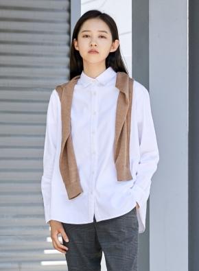 여성) 옥스포드 루즈핏 셔츠