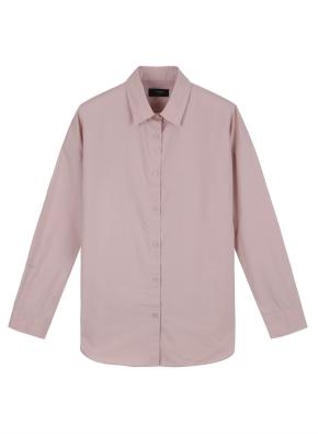 여성) 코튼 포플린 루즈핏 셔츠