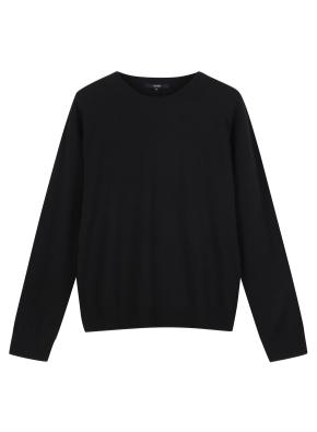 여성) 캐시미어 블렌드 크루넥 스웨터