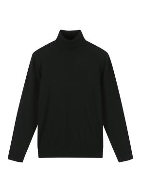 남성) 캐시미어 블랜드 터틀넥 스웨터