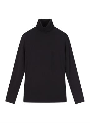 여성) 에코 소프트 터틀넥 긴팔 티셔츠
