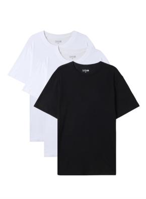 공용) 튜블라 베이직 반팔 티셔츠 (3PACK) (WWB)