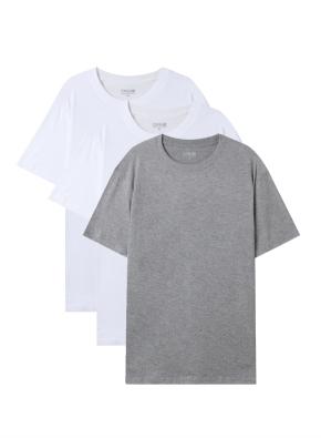 공용) 튜블라 베이직 반팔 티셔츠 (3PACK)