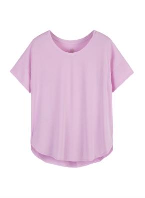여성) BALANCE 루즈핏 롱 티셔츠
