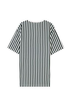 남성) 스트라이프 그래픽 티셔츠(GN)