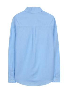여성) 리넨코튼 레귤러 셔츠(SBL)