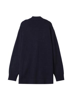 남성) 스웨터 가디건(NV)