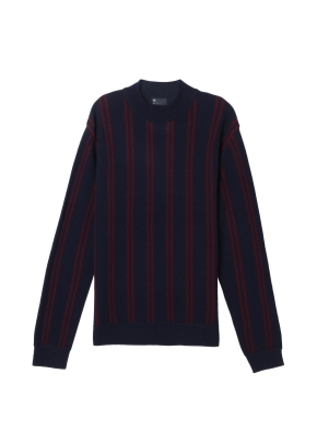 남성) 스트라이프 스웨터(NVP)