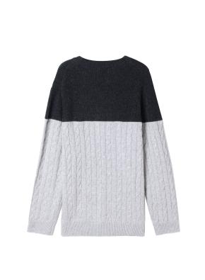 남성) 케이블 스웨터(CHP)