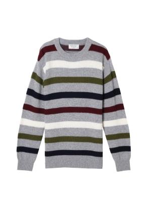 남성) 램스울 스웨터(GRP)