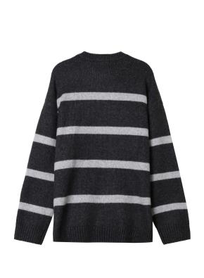 여성) 스트라이프 스웨터(CH)