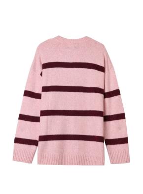 여성) 스트라이프 스웨터(PK)